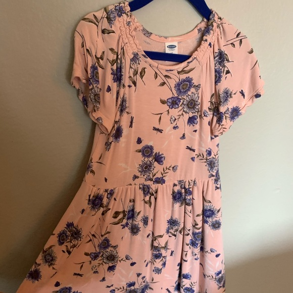 Old Navy Other - Beautiful pale pink with blue dress